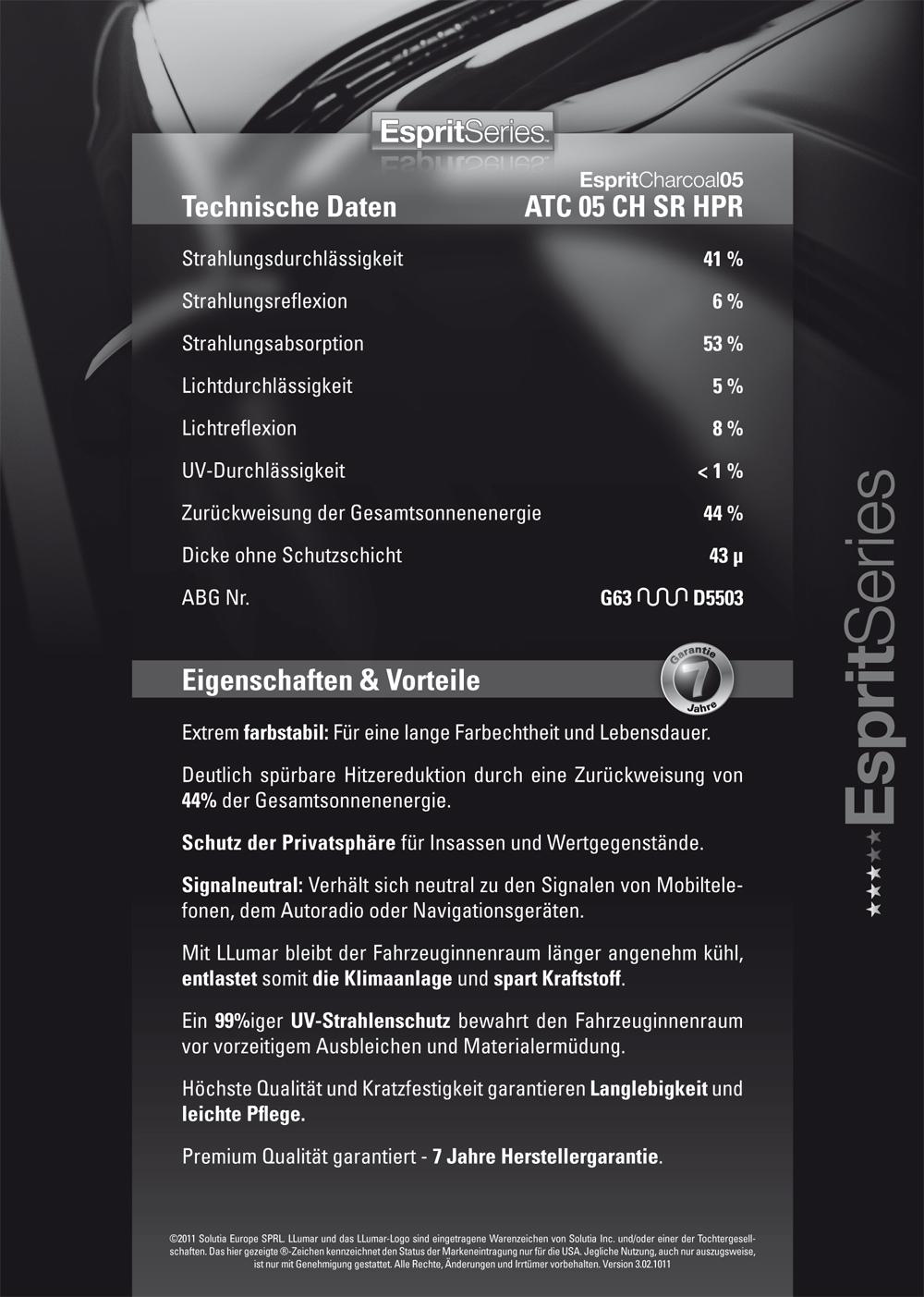 ATC 05 CH SR HPR - EspritCharcoal 05 - 51cm