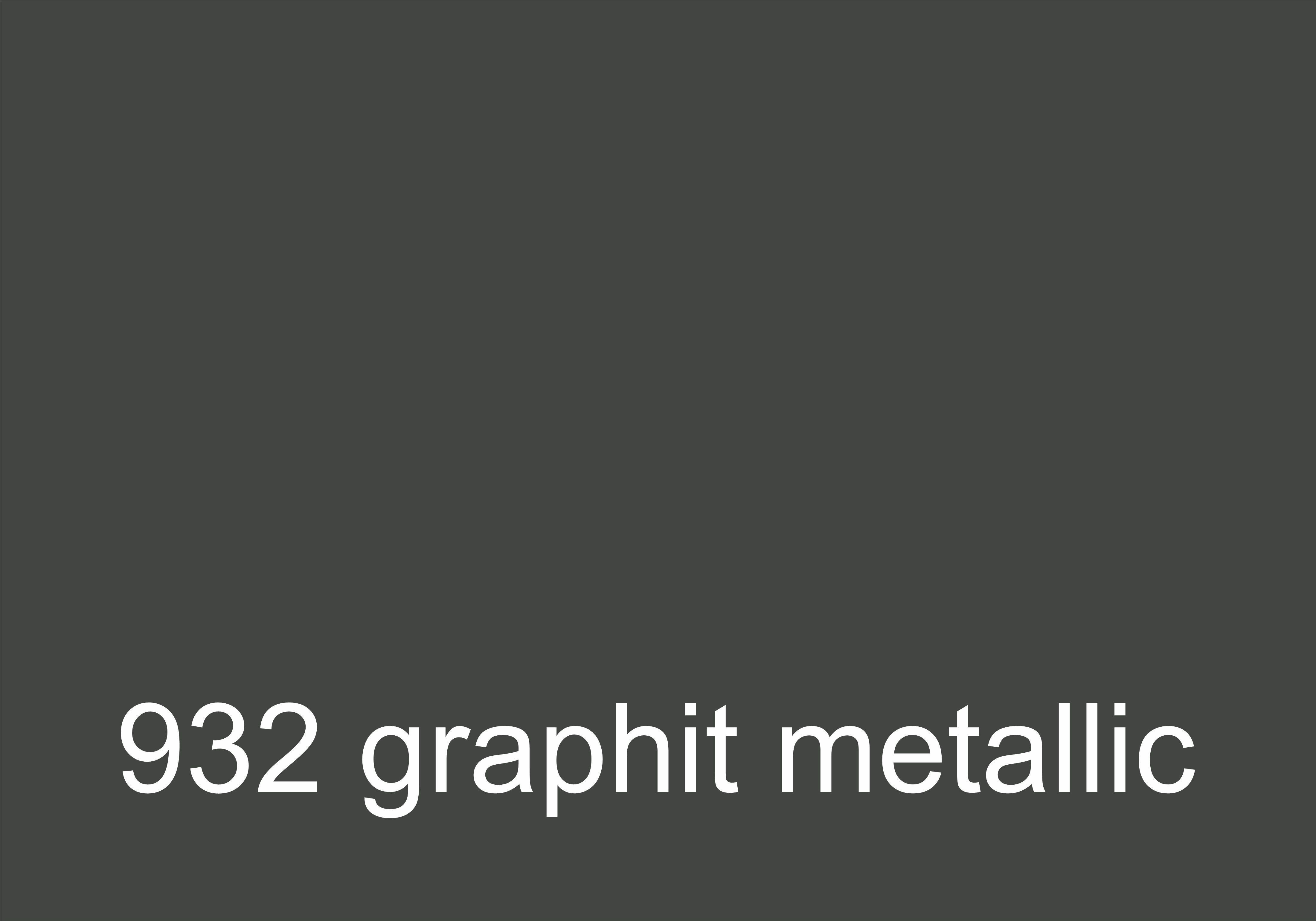 932 Graphit Metallic