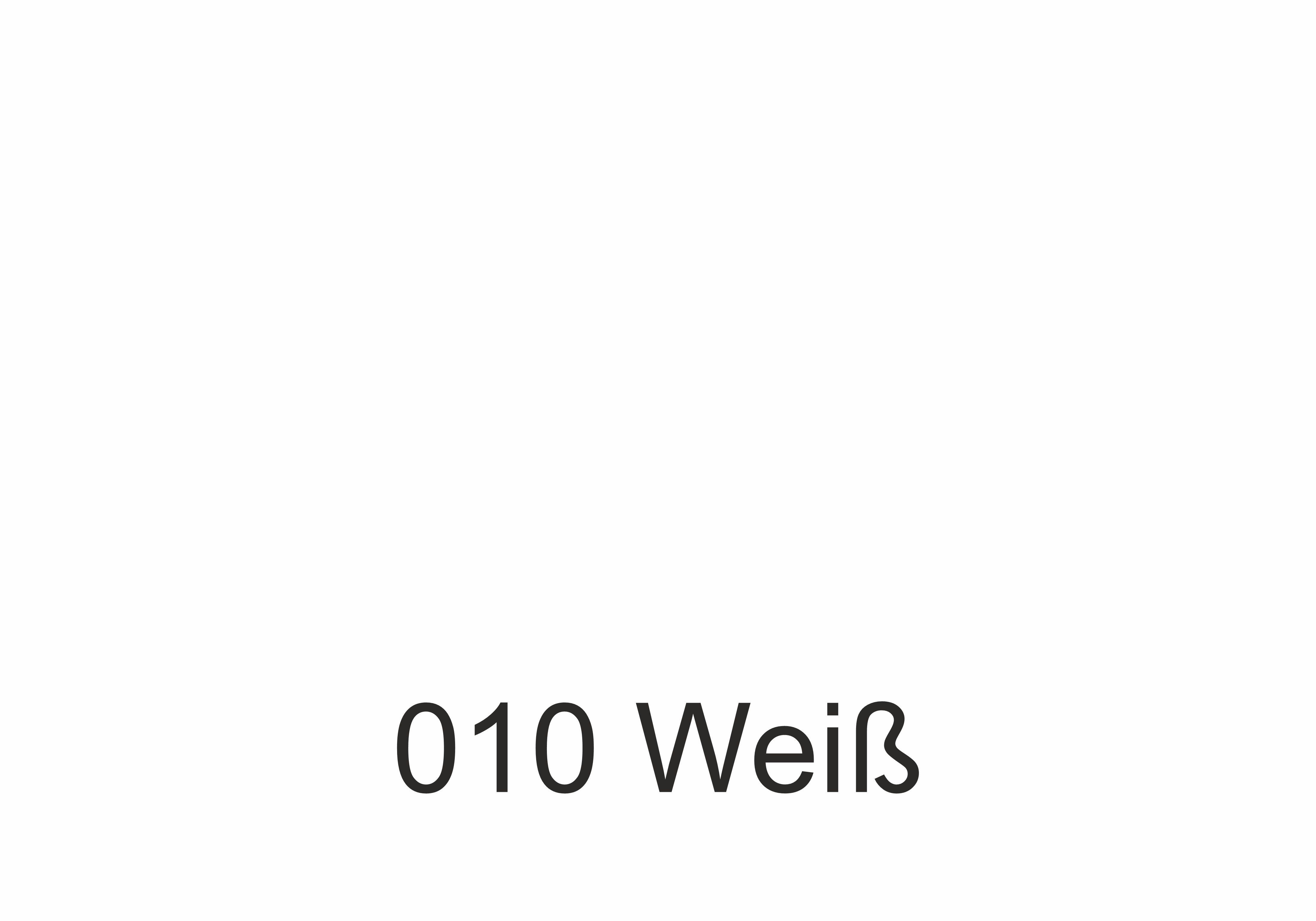 010 Weiß